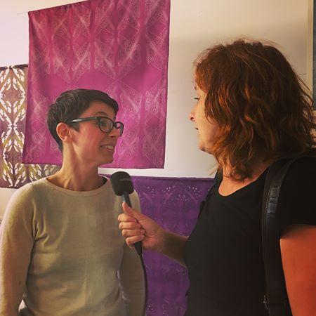 Marie Ledendal i Radio Malmohus P4 intervju om smarta textilier
